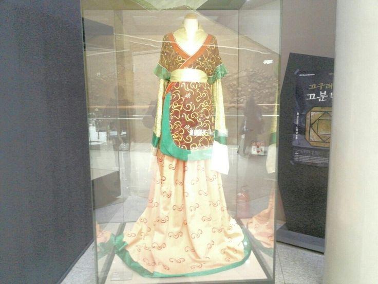 고구려의 여왕 복식-Goguryeo queen's costume