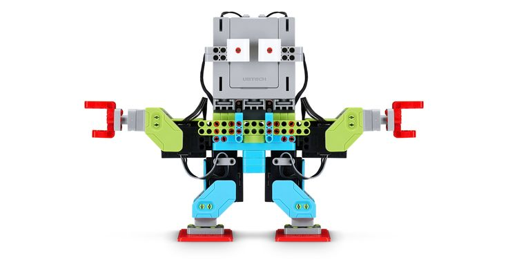 Create a unique humanoid robot with Ubtech's Jimu Robot Meebot robot kit—and…