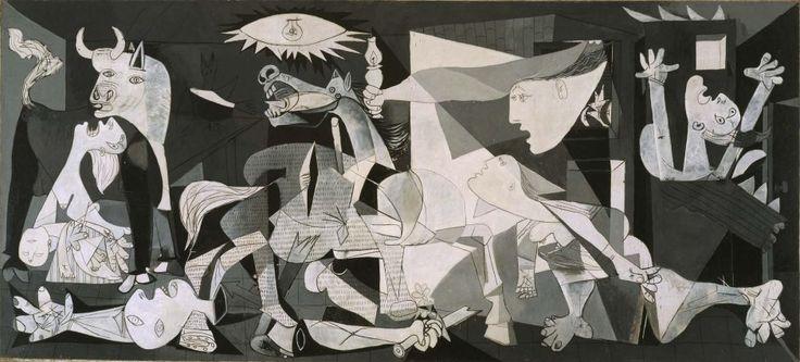 Guernica - Picasso - museo Reina Sofia - 20è - Cubisme