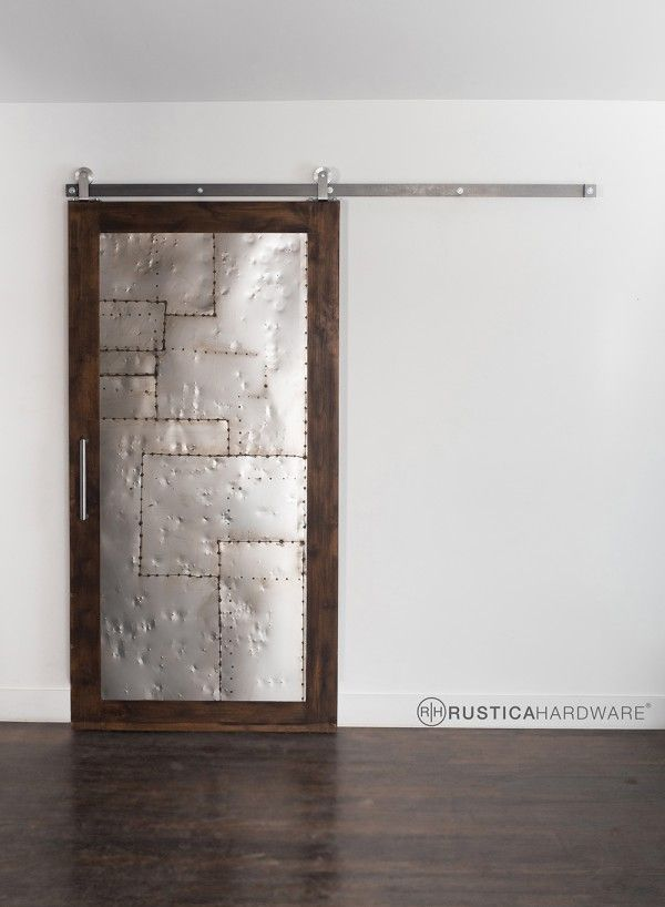 320 best barn doors images on pinterest doors sliding for Metal barn doors