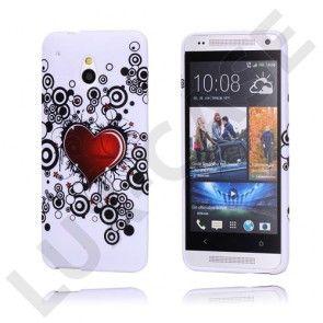 Symphony HTC One Mini Cover (Mega Hjerte)
