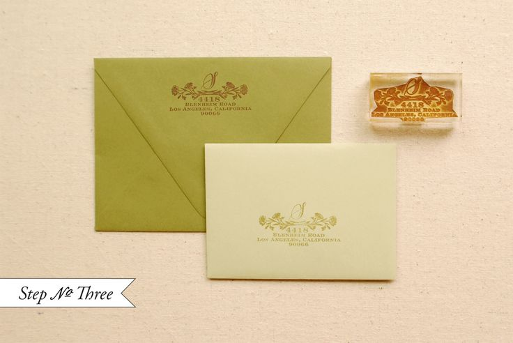 DIY Tutorial: Rubber Stamp Wood Veneer Invitation Suite ...