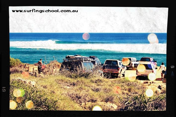 Desert carpark #surf #australia