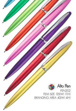 Alto Pen  incl 1 color Print R5.35, Logo Setup R175 Valid until 25 April 2014