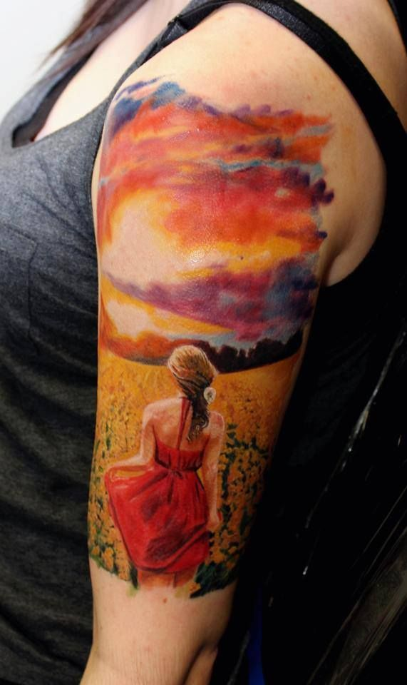 861 best images about if 39 ve got you under my skin for Yellow tattoo on dark skin
