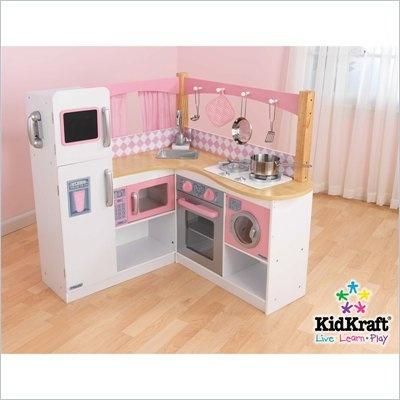 KidKraft Grand Gourmet Corner Kitchen  #cymaxkidswin