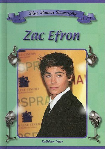 Zac Efron (Blue Banner Biographies) Price:$14.95