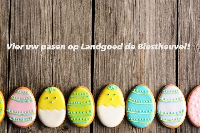 Op zoek naar een kindvriendelijke locatie voor een gezellige #paasbrunch? Kom uw #pasen vieren op Landgoed de Biestheuvel!