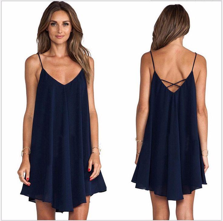 vestido soltinho de alcinha. tankto dress