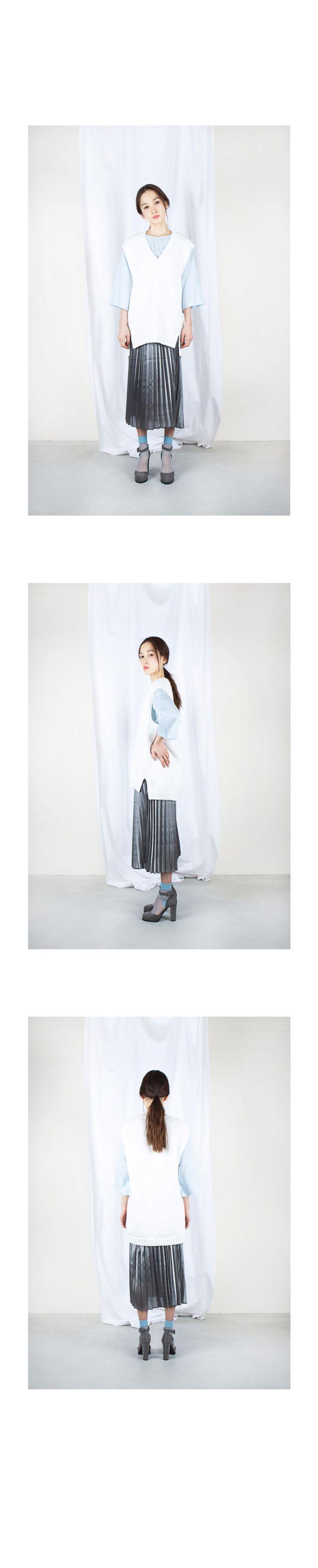 レディースファッション vonBraun(ボンブラウン) 《公式》 / Uネックプルオーバー七分袖ブラウス【t00121】
