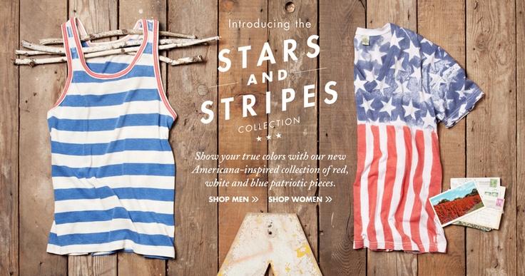 Alternative Apparel Stars & Stripes Collection