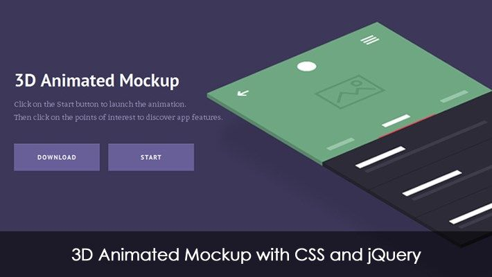 Infographic Ideas infographic animation css : 3D Animated Mockup with CSS and jQuery | D, Mockup and 3d