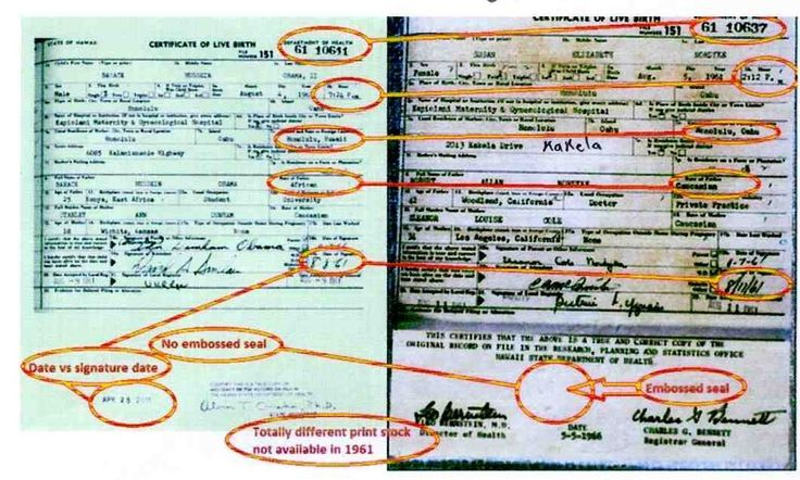Scientific Evidence: Obama Birth Certificate Copy Proven Fake And Forged President Obama's COLB Was Not Copied, Fake Copy Made From Johanna Ah'Nee's BC *MUST VIEW VI…