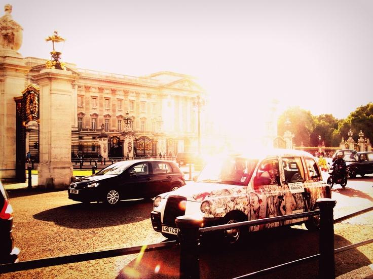 Sunset at Buckingham Palace