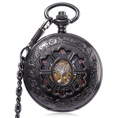 Just US$17.32 + free shipping, buy PC38 Antique Mechanical Hand Wind Pocket Watch online shopping at GearBest.com.