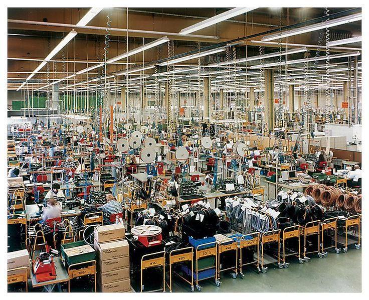 Andreas Gursky - Siemens Karlsruhe