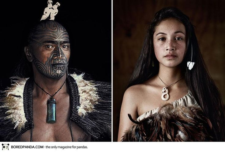 Two members of the Maori tribe from New Zealand - Imgur