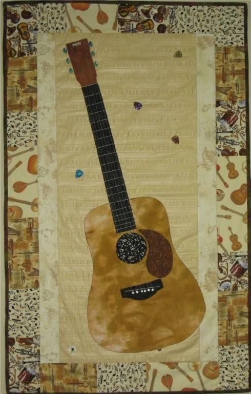 51 Best Images About Quilts Guitar On Pinterest