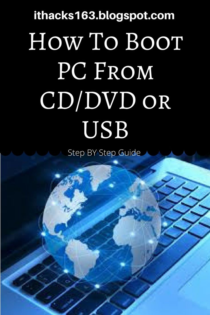 #howto #stepbystep #blog #boot #computers #usb #dvd