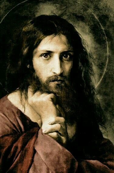My favorite picture of Yeshua. It speaks to me....