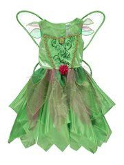 Disney Fairies Tinkerbell Fancy Dress Costume