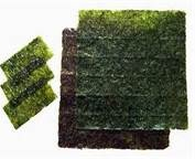 """nori - Bing Images Nori banishes brain fog. Nori the sea weed """"paper"""" has rich source of B12 which is crucial for cognitive fx, concentration, and memory.  eat it plain or add into strips of  salads or rice dishes."""