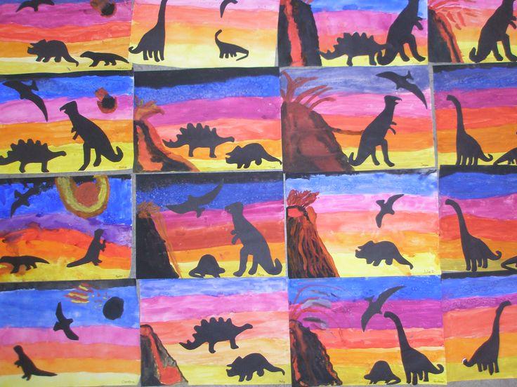 Dinosauremne på 2. årgang