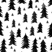 Trees - White and Black by Andrea Lauren  by andrea_lauren