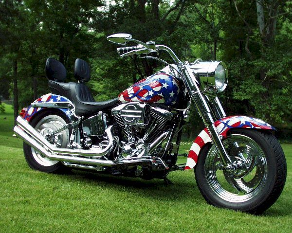 Harley Fat Boy - looks like freedom!