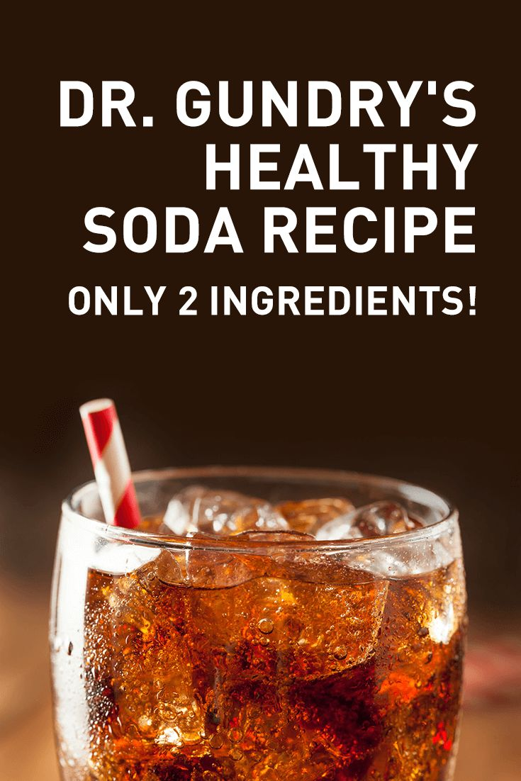 Healthy soda recipe dr gundry matrix plant paradox - Cuisine r evolution recipes ...