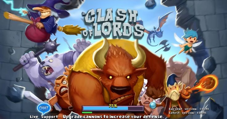 Free Download Clash of Lords Game Apps For Laptop Pc Desktop Windows 7 8 10 Mac Os X