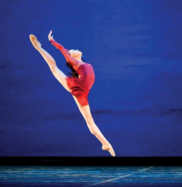 Maya Wheeler didn't let os trigonum end her dance dreams.    Photo: Maya at the 2014 Youth America Grand Prix (photo by Vikki Sloviter)
