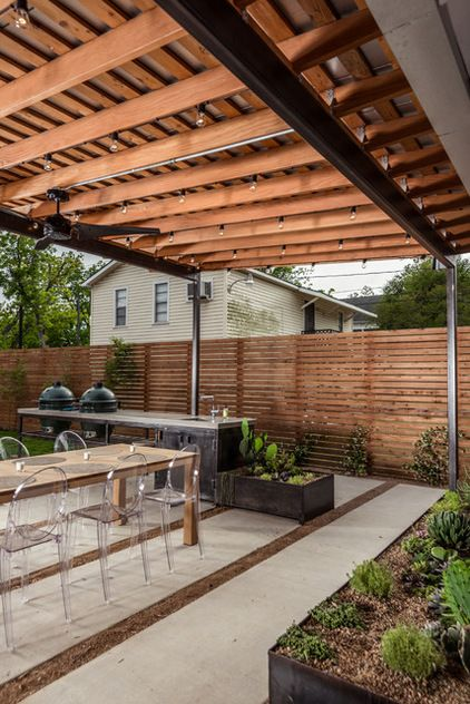 contemporary patio by brett zamore design