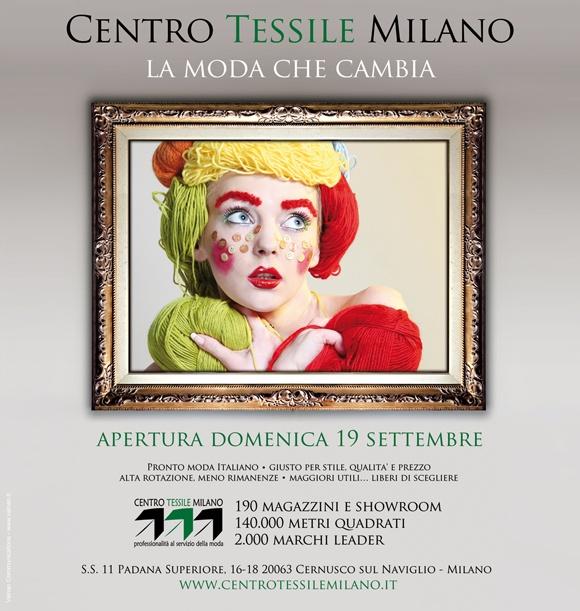 Campagna Pubblicitaria Centro Tessile Milano - On Air