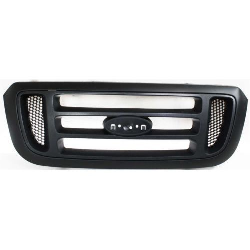 Ford Ranger Grille Ford Ranger 04-05 Grille, Horizontal Bar Insert, Painted-Black, 2wd, Xl/xlt/ford Edge/tremor Models Grille Years: 2004, 2005 Ford Ranger THIS ITEM SHIPS FOR FREE