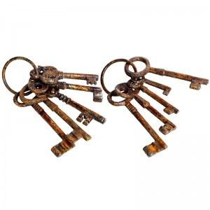 2 Bunches of Manor House Keys