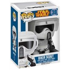 Star Wars POP! Vinyl Bobble-Head Biker Scout 10 cm