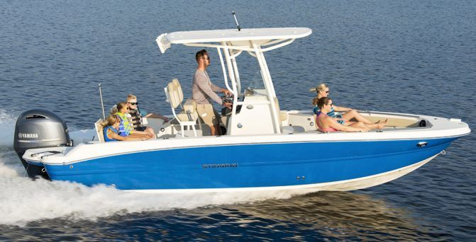 The Stingray Is A Versatile Center Console Fishing Boat With Plenty Of Family Appeal