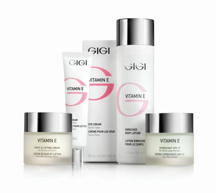 Hou je huid jong met de producten van GIGI cosmetic Vitamin E Mineral Skin Cosmetics