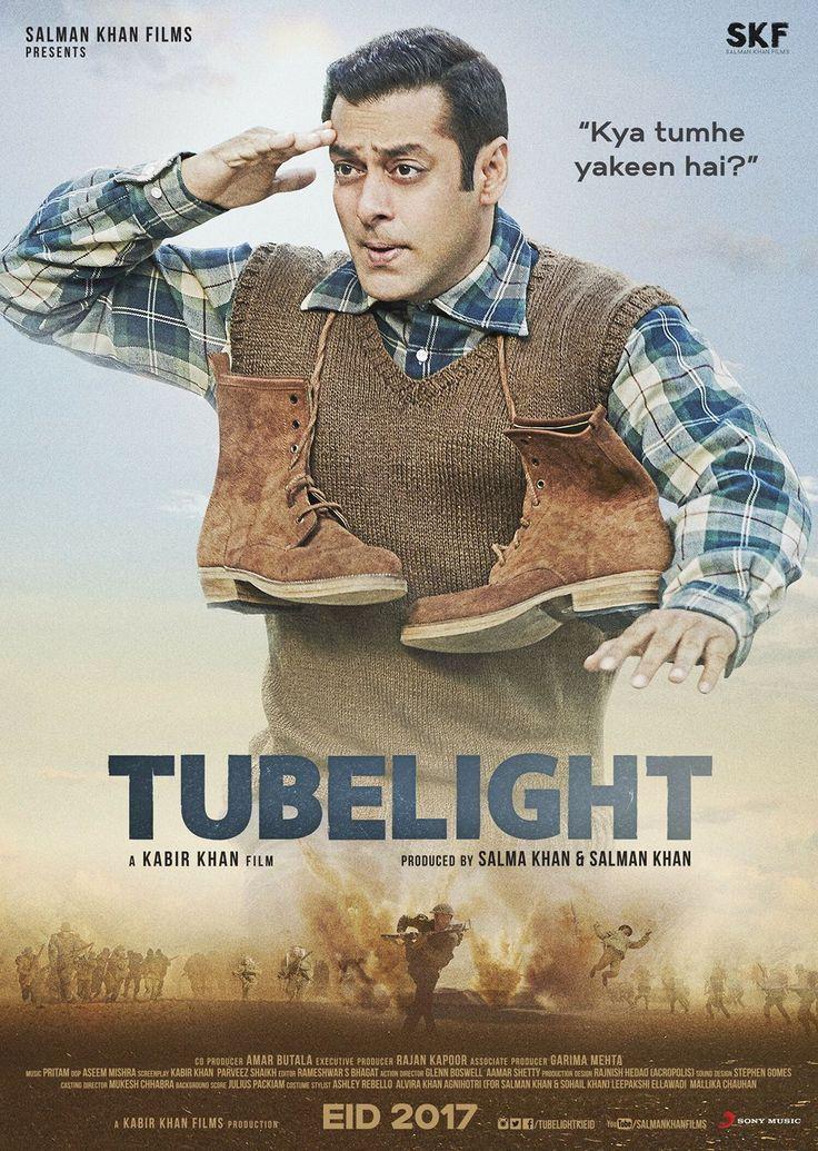 Tubelight Official Poster | Salman Khan, Sohail Khan, Zhu Zhu | Directed by Kabir Khan | Movie Releasing on 23rd June 2017. #Tubelight #SalmanKhan #SohailKhan #ZhuZhu #KabirKhan #SalmanKhanFilms #EID