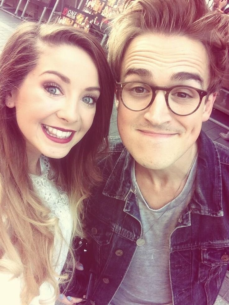 Two of my biggest inspirations Tom fletcher and Zoe sugg