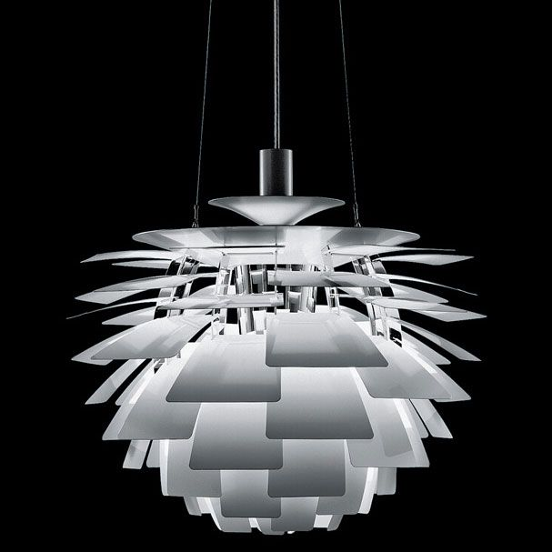 The Artichoke lamp by Poul Henningsen.