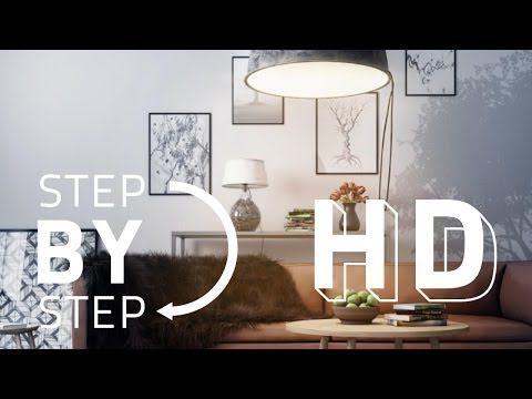 Advanced Post Production Techniques in Photoshop - Interior Scene - YouTube