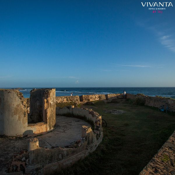 Transporting you to another century! Explore the Galle Fort as part of your trip to Vivanta by Taj – Bentota. #Vacation #Holidays #Fort #History #SriLanka