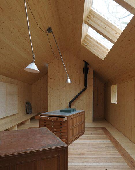 architectural archive barn conversion - somerset - hugh strange - photo david grandorge