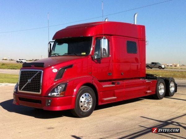 vnl volvo for semi sale miles trucks thumb sleeper truck