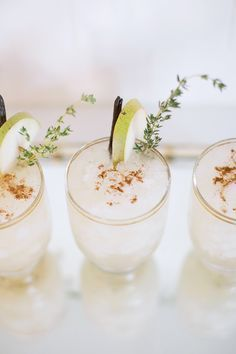 Gray Malin's sparkling spiced pear cocktail recipe