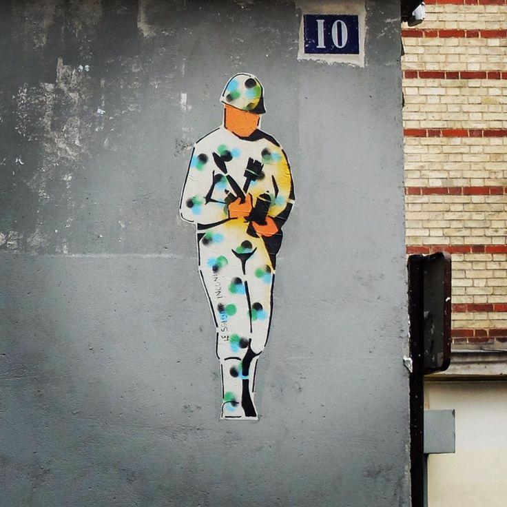Le soldat inconnu #streetart