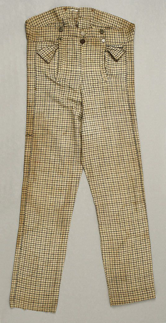 1835--follow link for more images. Just some more check trousers for Babbage.