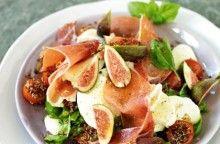 Quinoa med fikon, serrano och mozzarella Receptbild - Allt om Mat